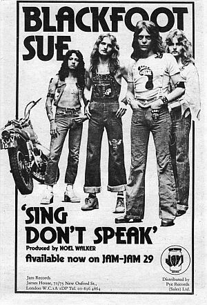 Sing Don't Speak magazine advertisement