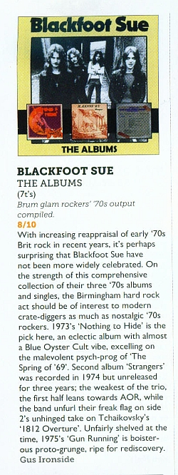 The Albums - box set - Blackfoot Sue